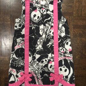 Lilly Pulitzer 4t Pandamonium shift dress VHTF